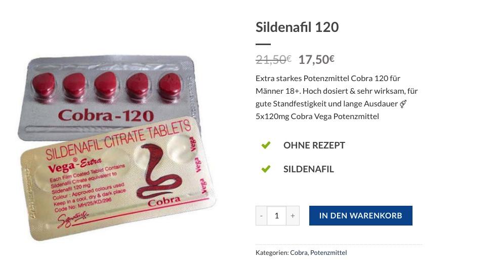 Sildenafil 120